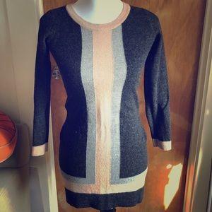 Cynthia Rowley Wool Mini Sweater Dress